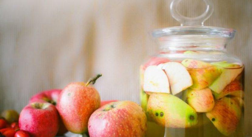 cilt lekelerine elma sirkesi