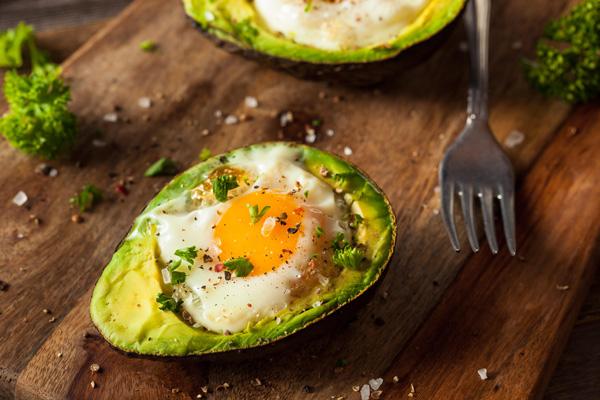 yumurta ve avakado